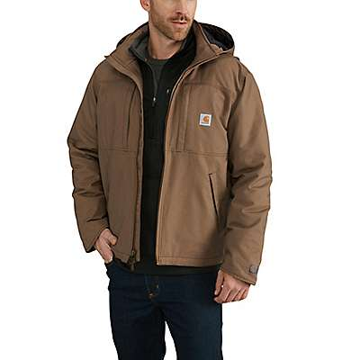Carhartt Men's Canyon Brown Full Swing® Loose Fit Quick Duck Insulated Jacket