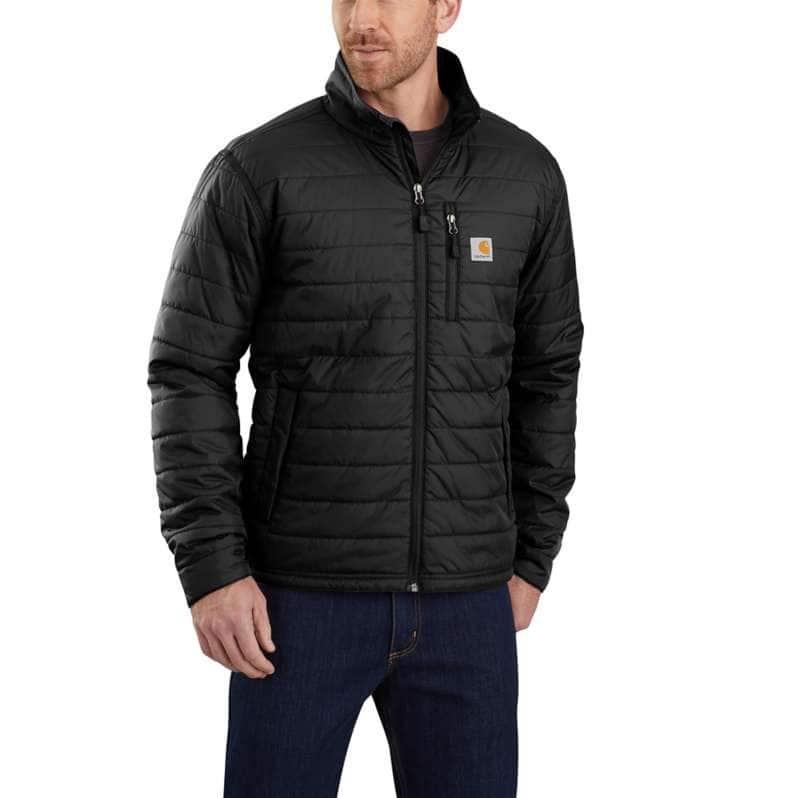 Carhartt  Black Rain Defender® Relaxed Fit Lightweight Insulated Jacket