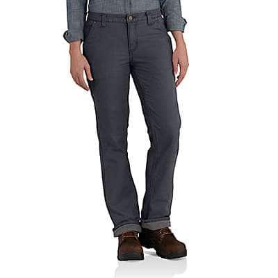 Carhartt Women's Coal Fleece-Lined Crawford Pants