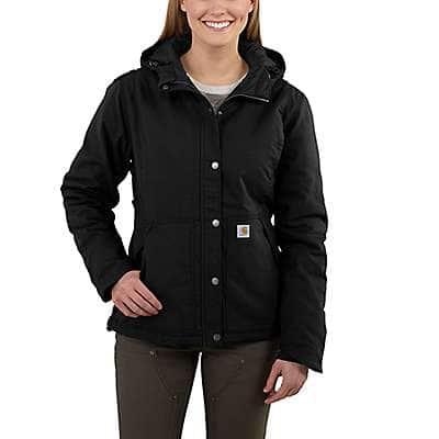 Carhartt  Black Full Swing® Cryder Jacket - front