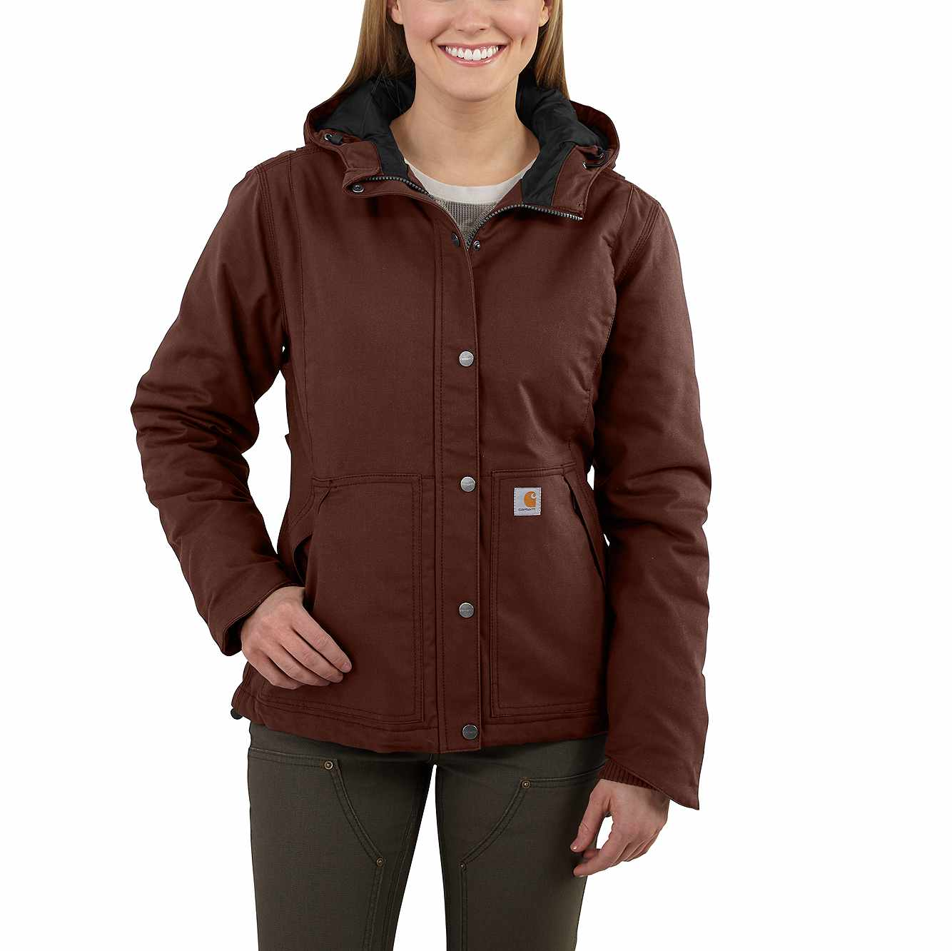 Picture of Full Swing® Cryder Jacket in Mineral Red