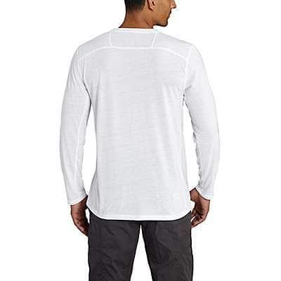 Carhartt Men's Energetic Orange Carhartt Force Extremes® Long-Sleeve T- Shirt - back
