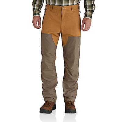 Carhartt Men's Canyon Brown Upland Field Pant - front
