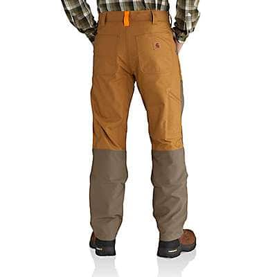 Carhartt Men's Canyon Brown Upland Field Pant - back