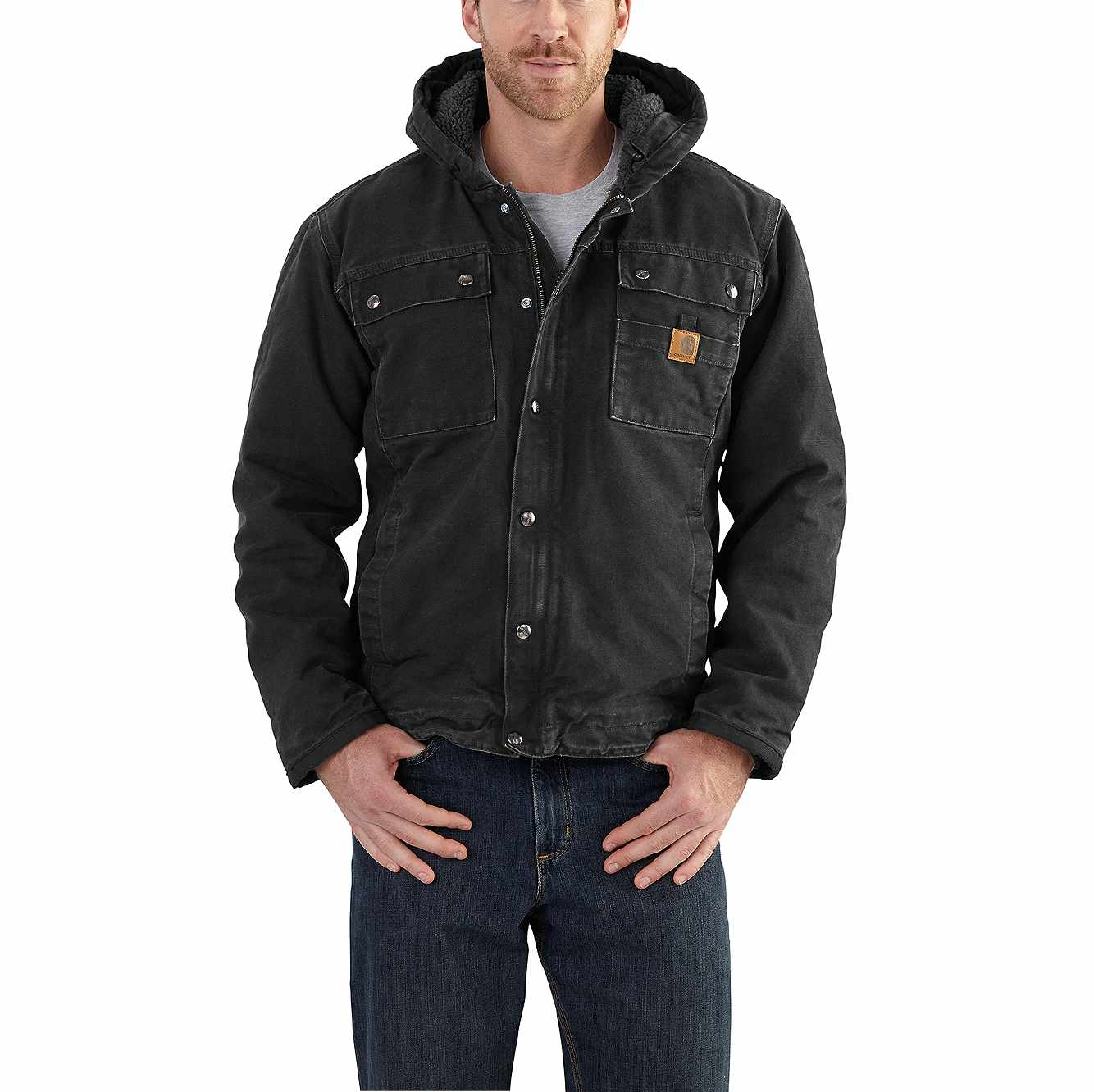 super popular 059f5 07cd1 Bartlett Sherpa-Lined Jacket