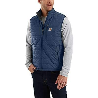 Carhartt Men's Black Gilliam Vest - back