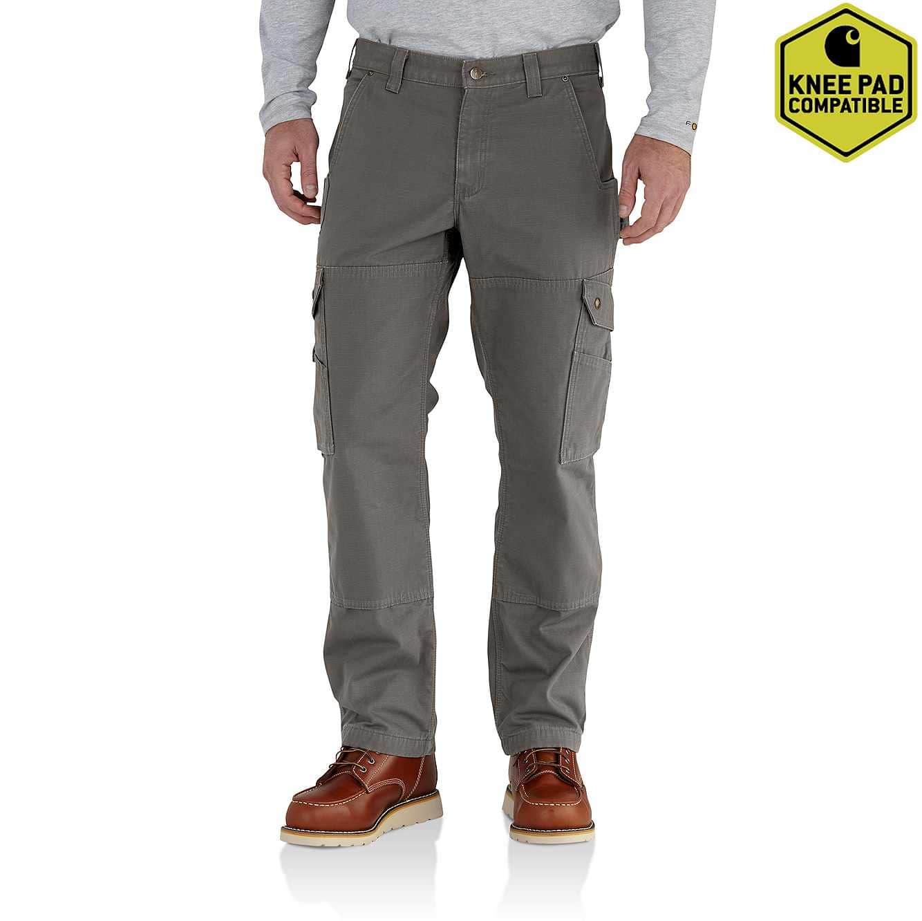 0c4d9acb Men's Ripstop Flannel Lined Cargo Work Pant 102287 | Carhartt