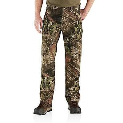 Carhartt Men's Mossy Oak Break Rugged Flex® Relaxed Fit Canvas Camo 5-Pocket Work Pant