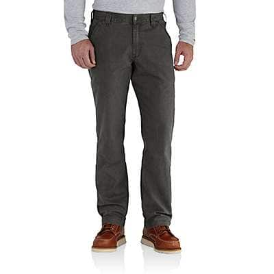 Carhartt Men's Peat Rugged Flex® Relaxed Fit Canvas Work Pant