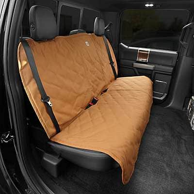 Carhartt  Carhartt Brown Dog Seat Cover - front