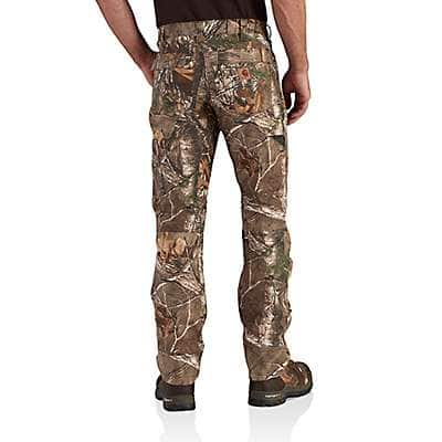 Carhartt Men's Realtree Xtra Full Swing® Camo Cryder Work Pant - back