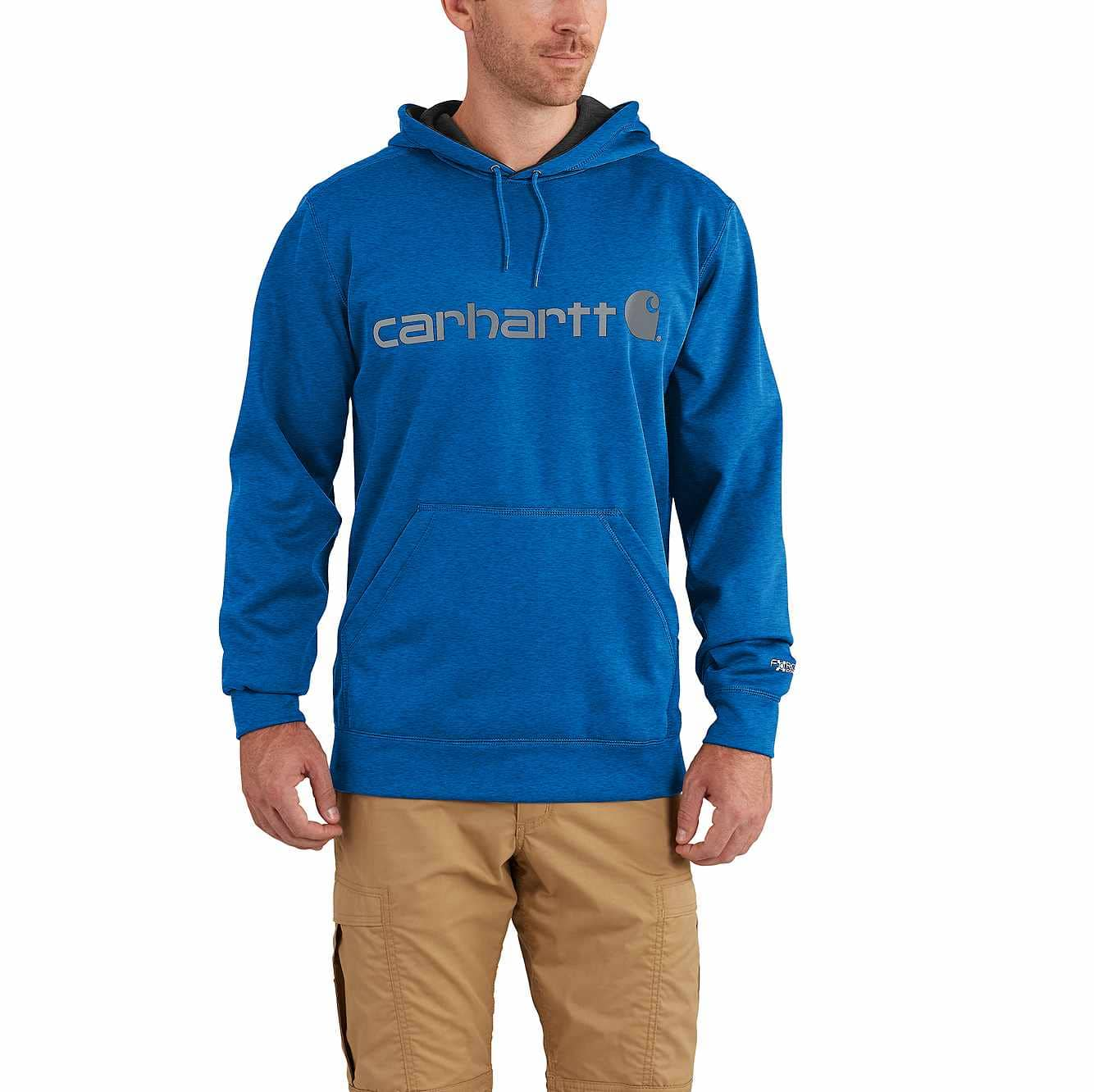 Medium NWT Carhartt Men/'s Force Extremes Signature Graphic Hooded Sweatshirt