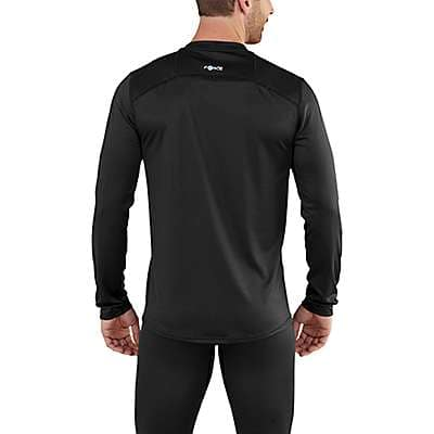 Carhartt Men's Black Carhartt Base Force Extremes® Lightweight Crewneck - back