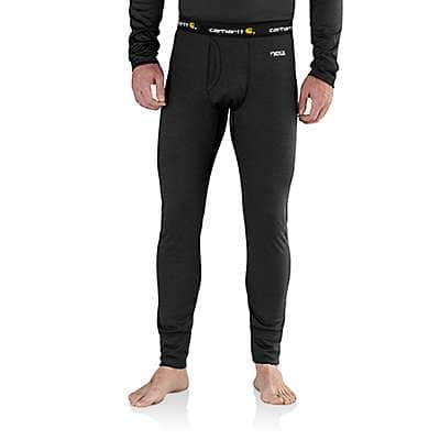 Carhartt Men's Black Carhartt Base Force Extremes® Cold Weather Bottom - front