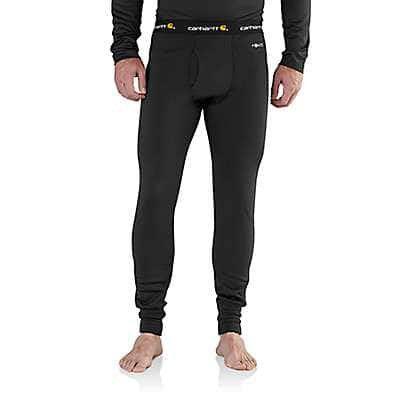 Carhartt Men's Black Carhartt Base Force Extremes® Super-Cold Weather Bottom - front