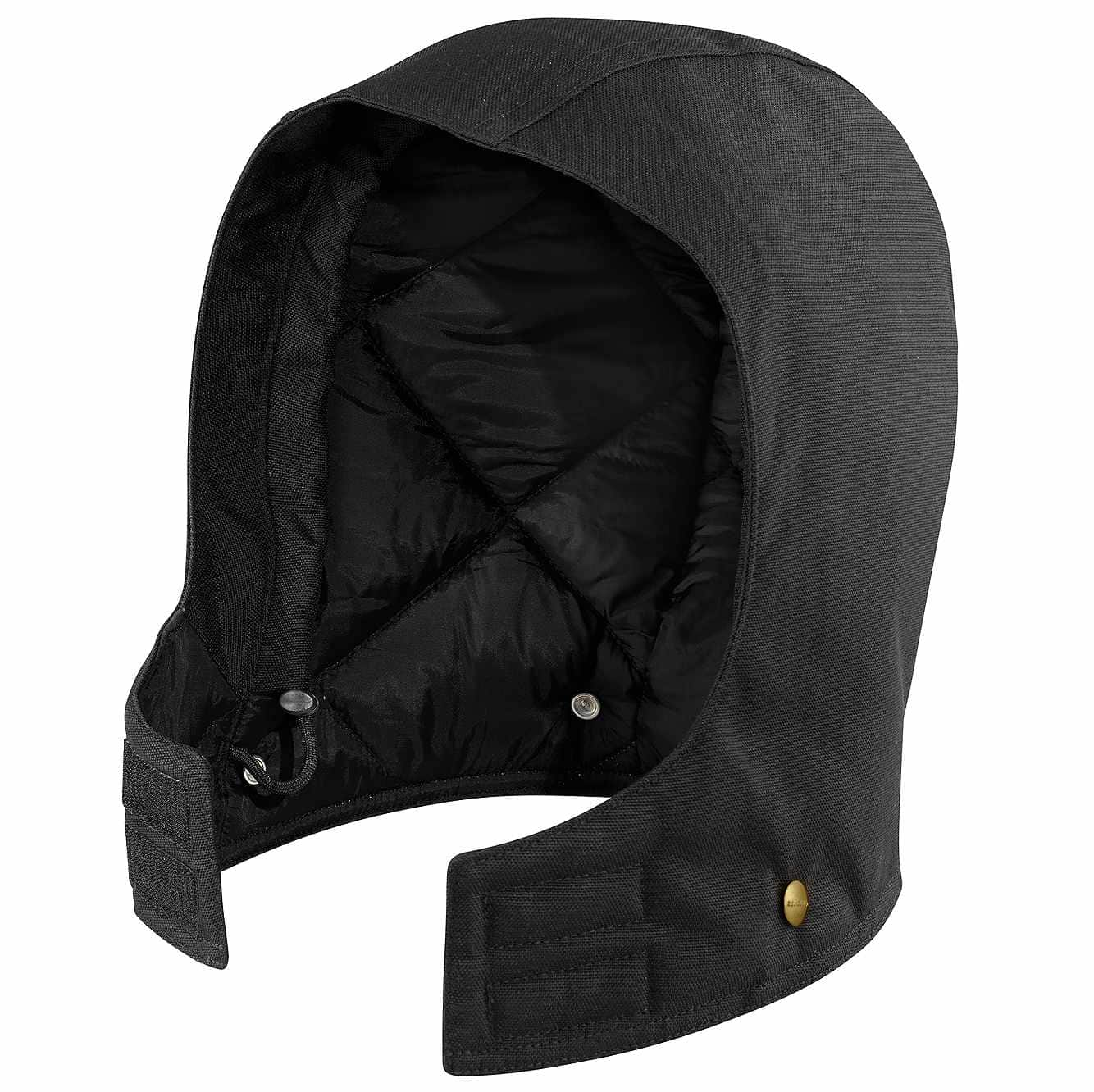 Picture of Arctic Quilt-Lined Duck Hood in Black