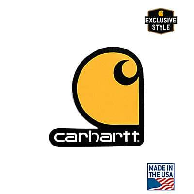 Carhartt  No Color Carhartt Logo Sticker - front
