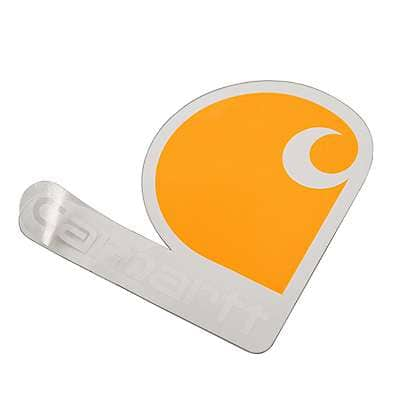 Carhartt  No Color Carhartt Clear Vinyl Sticker - back