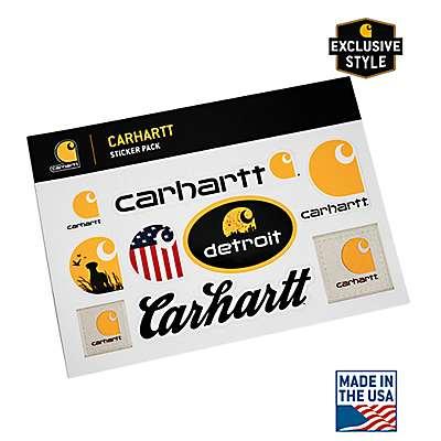 Carhartt Unisex No Color Carhartt Sticker Sheet - front