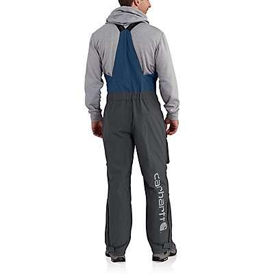 Carhartt Men's Dark Blue Force Extremes® Shoreline Angler Bib Overall - back