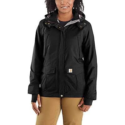 Carhartt Women's Deep Wine Shoreline Jacket - back