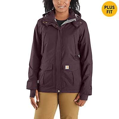 Carhartt Women's Deep Wine Shoreline Jacket - front