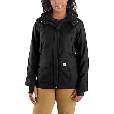 Carhartt Women's Black Storm Defender® Relaxed Fit Heavyweight Jacket