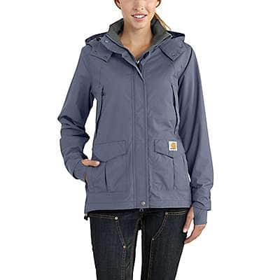 Carhartt Women's Folkstone Gray Storm Defender® Relaxed Fit Heavyweight Jacket
