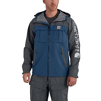 Carhartt Men's Dark Blue Force Extremes® Shoreline Angler Jacket - front