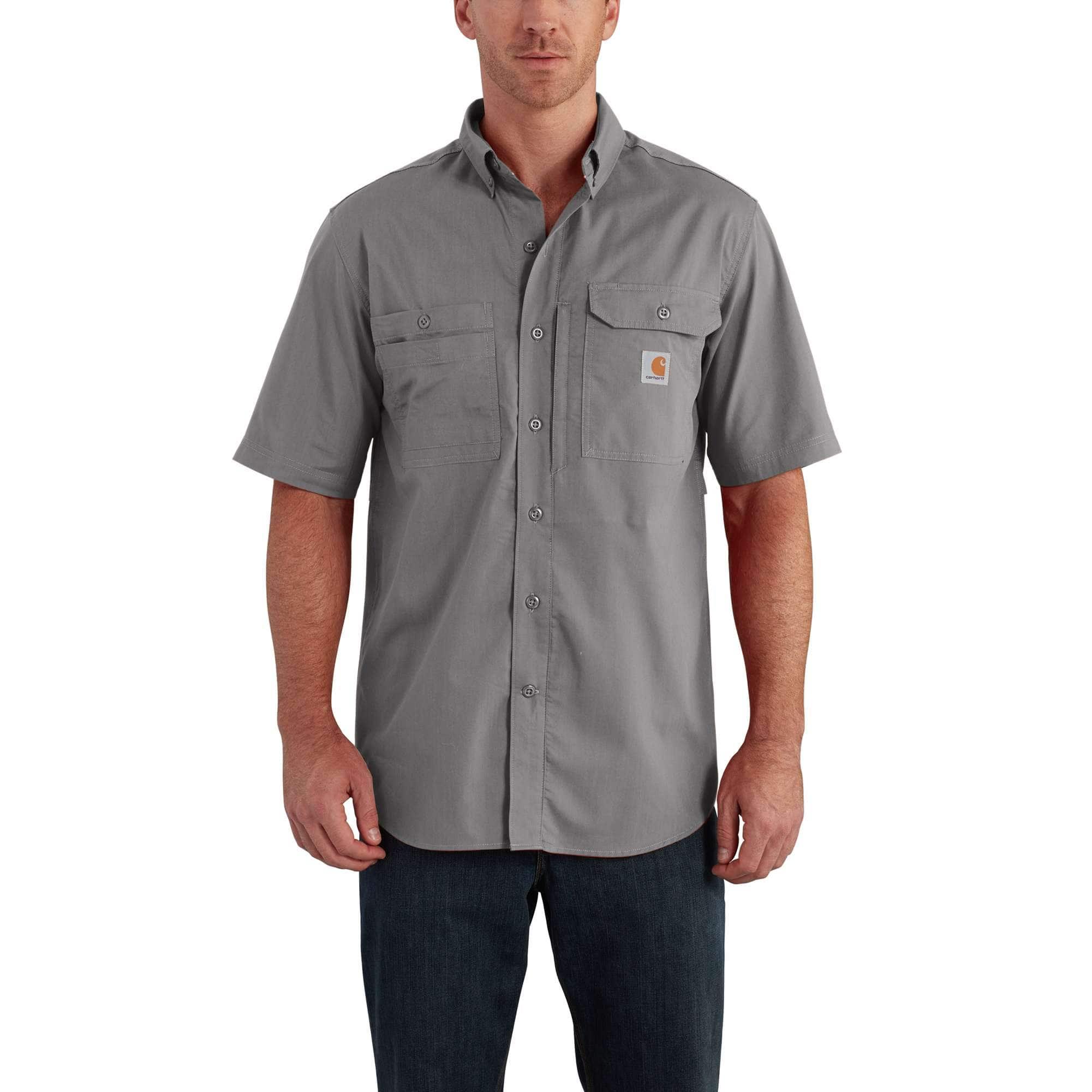 5f133dfd84b1 Men s Carhartt Force® Ridgefield Solid Short Sleeve Shirt