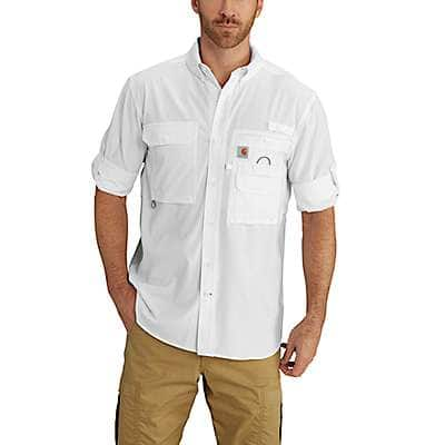 Carhartt Men's White Force Extremes® Angler Long Sleeve Shirt - front
