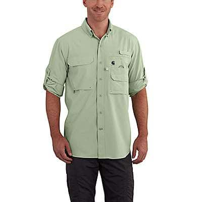 Carhartt Men's Spruce Force Extremes® Angler Long Sleeve Shirt - front