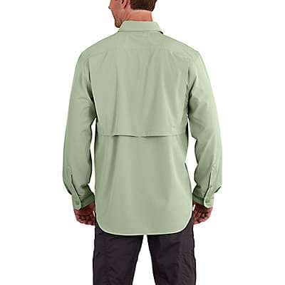 Carhartt Men's Spruce Force Extremes® Angler Long Sleeve Shirt - back