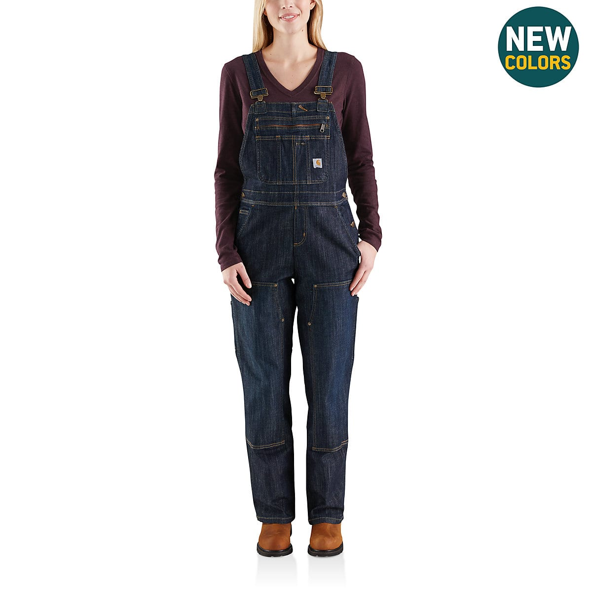371f919f330 Women s Brewster Double-Front Bib Overall 102443