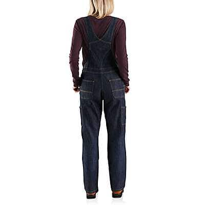 Carhartt Women's Indigo Stream Brewster Double-Front Bib Overall - back
