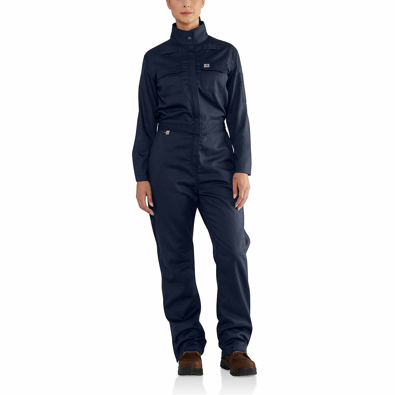Picture of Women's FR Rugged Flex® Coverall in Dark Navy