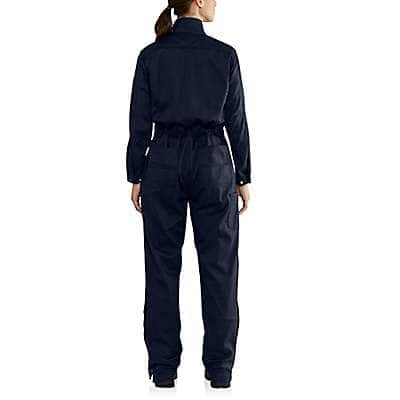 Carhartt  Dark Navy Women's FR Rugged Flex® Coverall - back
