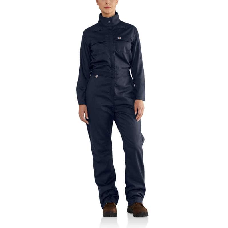 Carhartt  Dark Navy Flame-Resistant Rugged Flex® Coverall