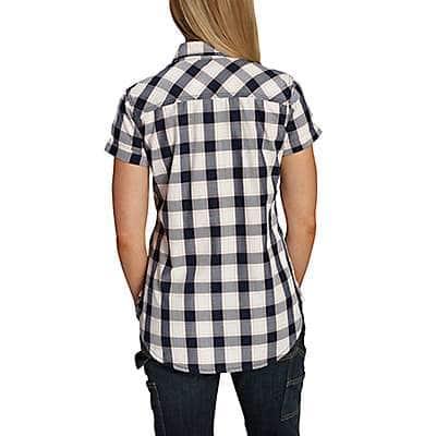 Carhartt Women's Amethyst Dodson Short-Sleeve Shirt - back