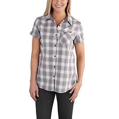 Carhartt Women's Amethyst Dodson Short-Sleeve Shirt - front