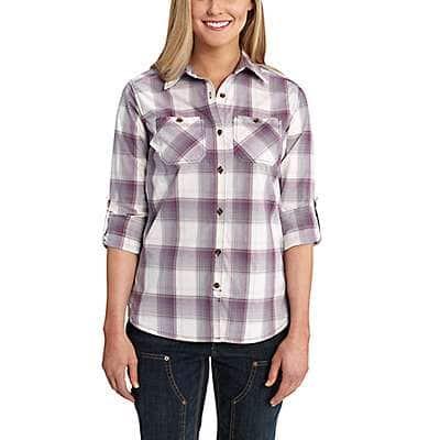 Carhartt Women's Vintage Violet Huron Shirt - front
