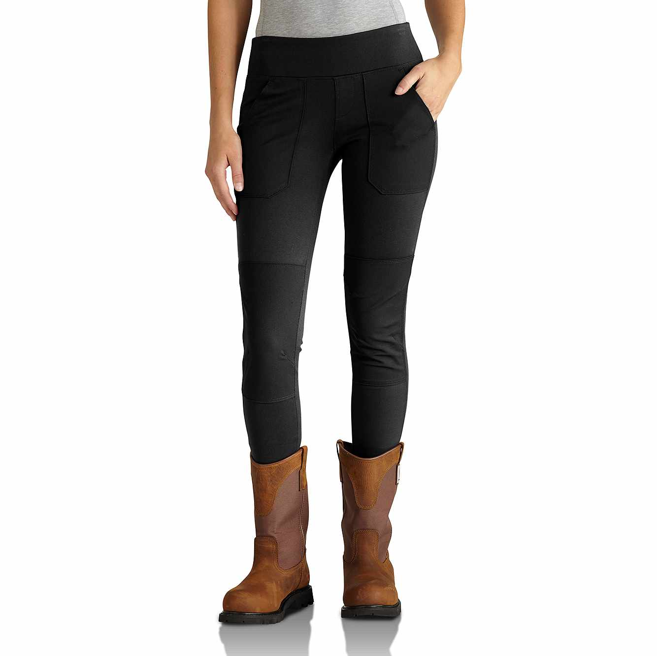 Picture of Carhartt Force® Utility Knit Legging in Black