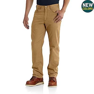 Carhartt Men's Black Rugged Flex® Rigby 5-Pocket Work Pant - front