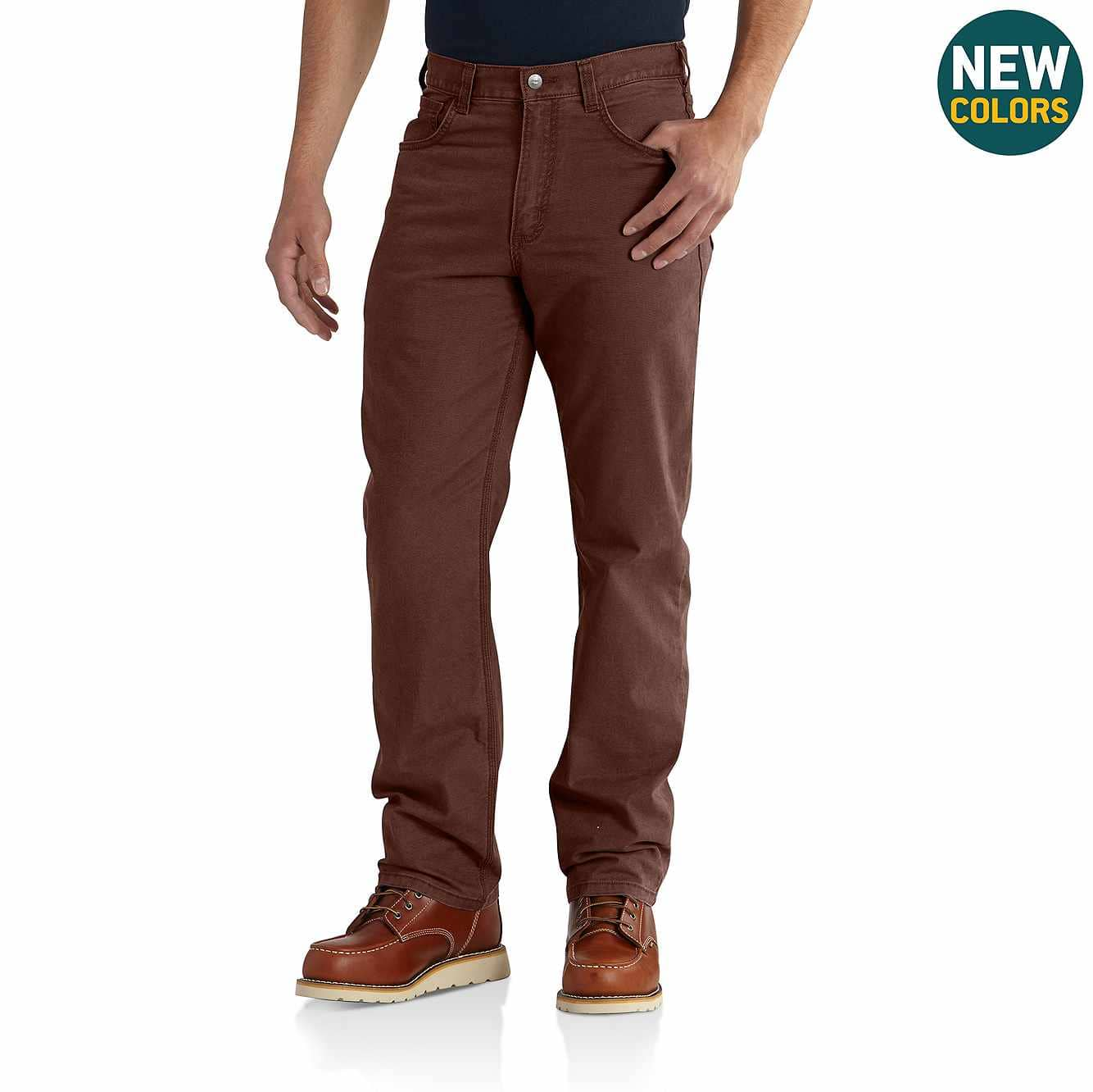 Picture of Rugged Flex® Rigby 5-Pocket Work Pant in Mineral Red