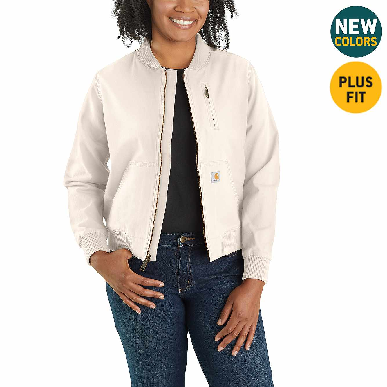 Picture of Crawford Bomber Jacket in Natural