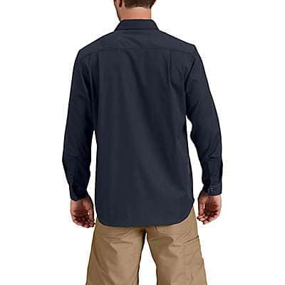 Carhartt  Navy Rugged Professional™ Series Men's Long-Sleeve Shirt - back