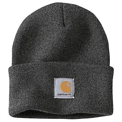 Carhartt Men's Coal Heather Outwork x Outhunt Acrylic Watch Hat - back