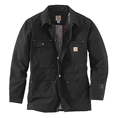 Carhartt  Black Quick Duck® Chore Coat - front