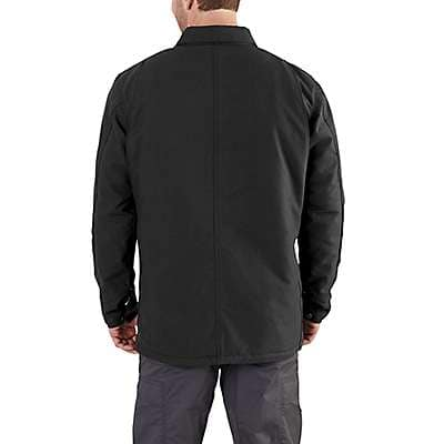 Carhartt  Black Quick Duck® Chore Coat - back