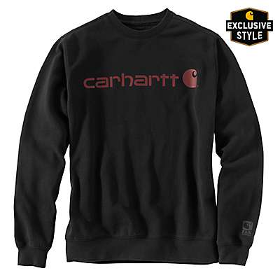 Carhartt  Black Avondale Rain Defender® Crewneck Sweatshirt - front
